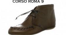 コルソローマ9のアンクル丈ショートブーツ