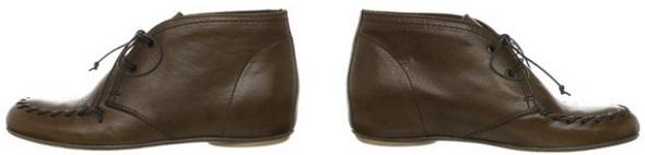 コルソローマ9のショートブーツ側面画像