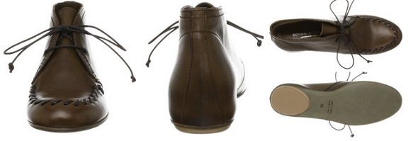 コルソローマ9のショートブーツ詳細画像