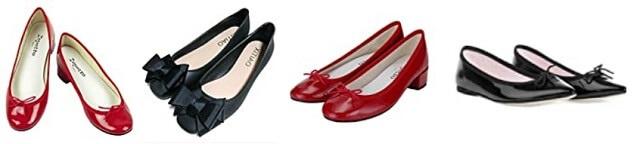 レペットの靴特集