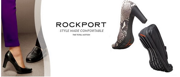 ロックポートのコンフォートパンプス